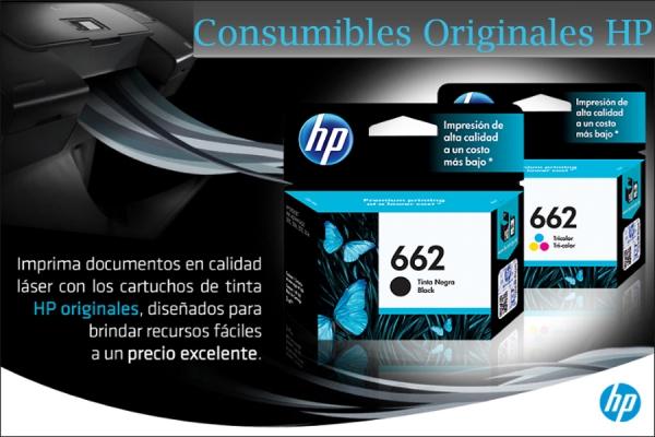 CONSUMIBLES ORIGINALES HP